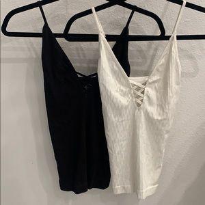 Set of 2 FP Intimates crossfire camis